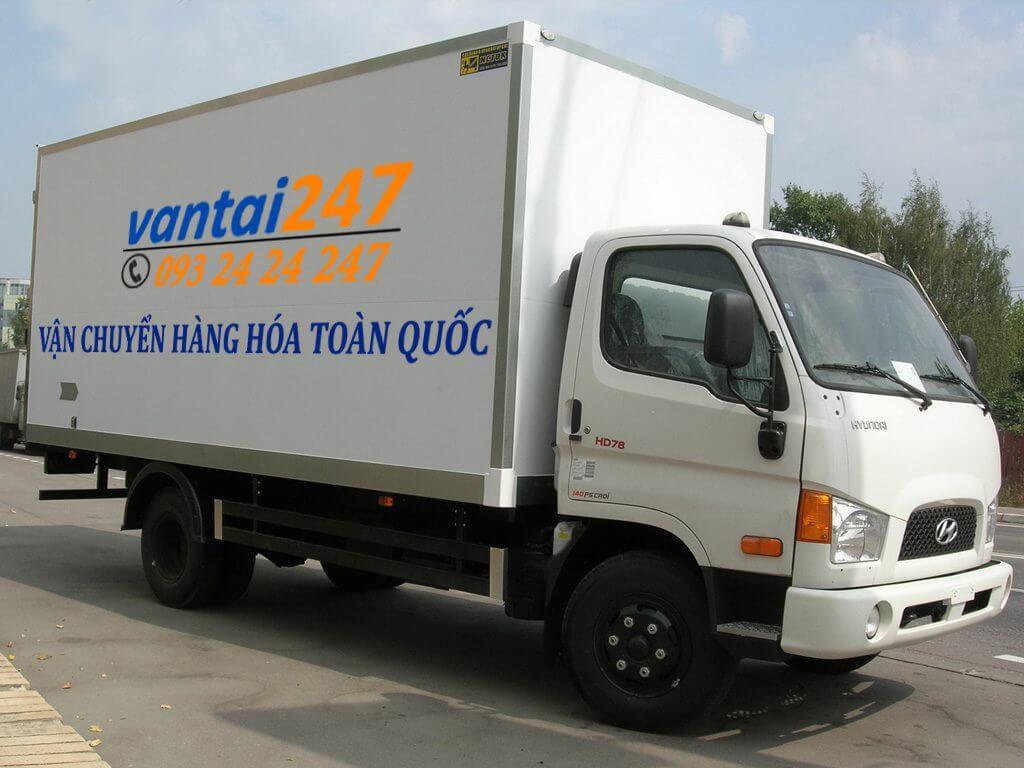 Xe tải ghép hàng đi miền bắc