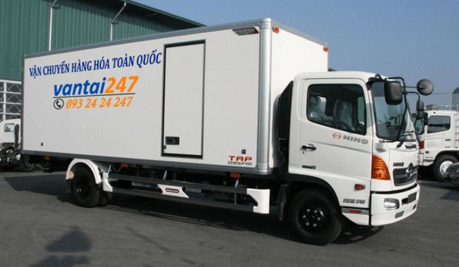 Xe tải 5 Tấn chở hàng tại Hà Nội